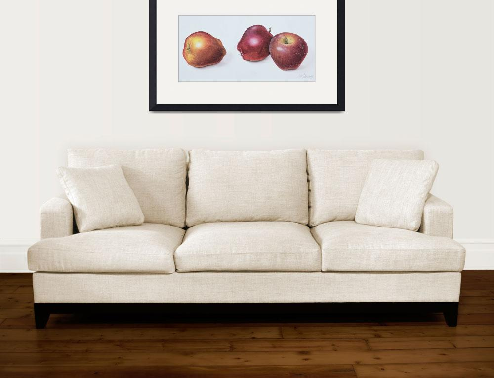 """""""Red Apples by Margaret Ann Eden&quot  by fineartmasters"""