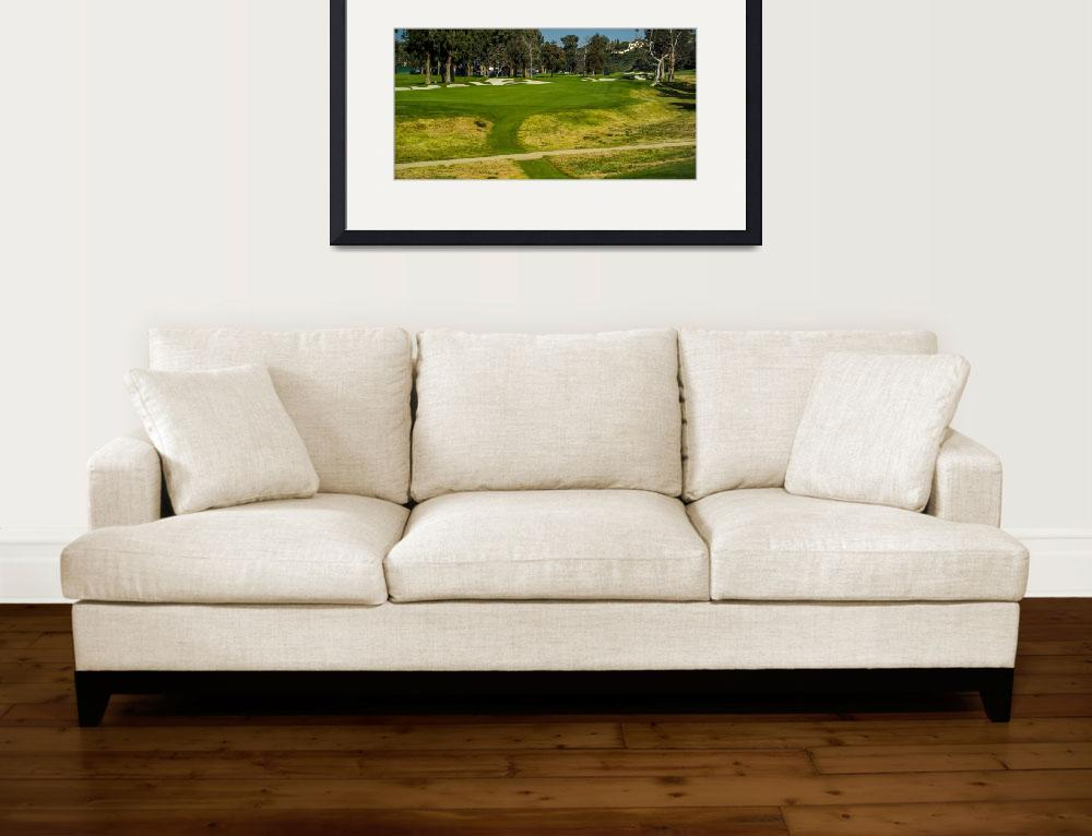 """Riviera Country Club Golf Course Hole Photo Wide""  (2008) by Richimage"