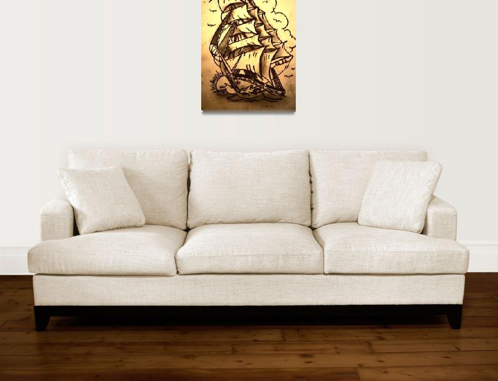 """""""Old Ship&quot  (2012) by KendleSixx"""