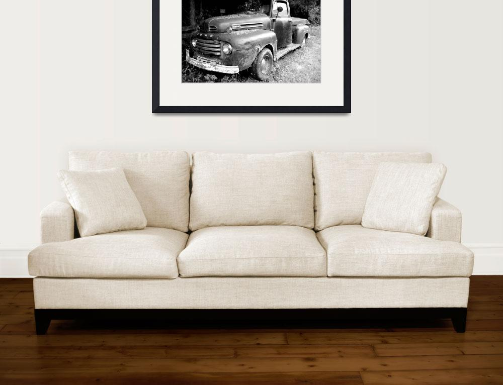 """""""Old Ford Truck&quot  (2010) by thewaltonsare"""