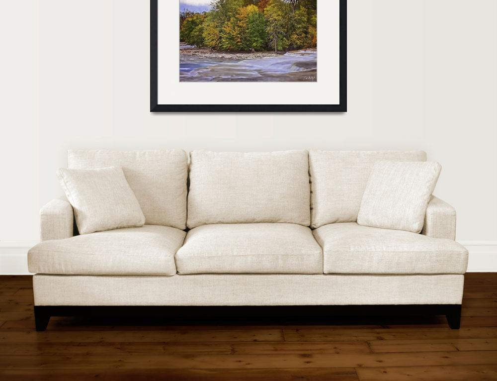 """""""Artistic Autumn At Healey Falls&quot  (2017) by PhillDohertyPhotography"""
