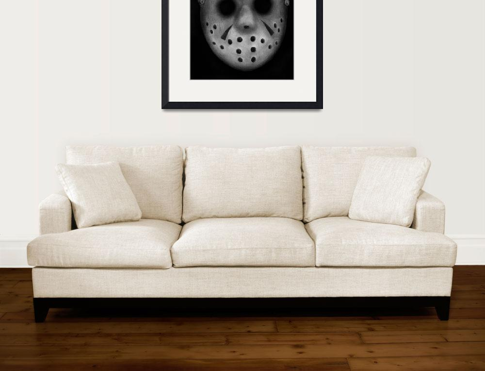 """""""Jason Vorhees&quot  (2011) by axemangraphics"""