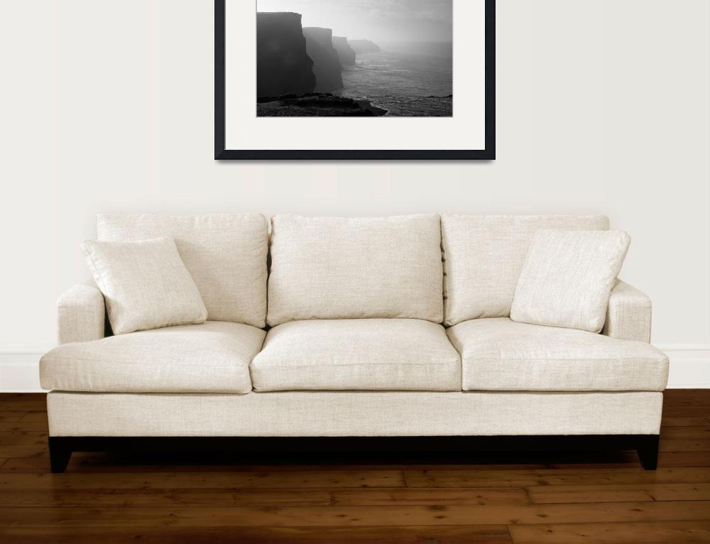 """""""Cliffs of Moher&quot  (2009) by phillip"""