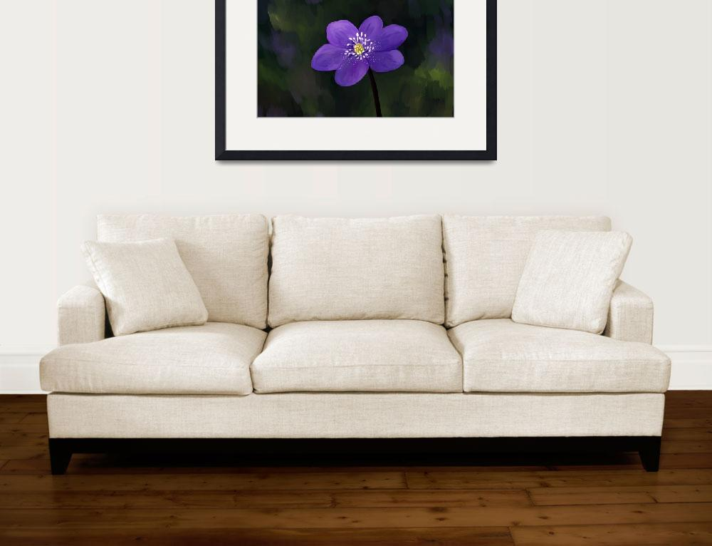 """""""Hepatica&quot  (2012) by freeminds"""
