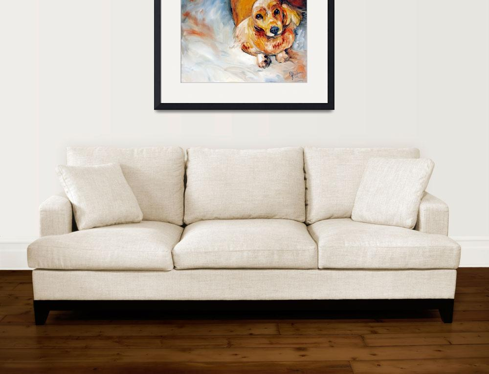 """""""LADY the Sweet Cocker Spaniel&quot  (2009) by MBaldwinFineArt2006"""