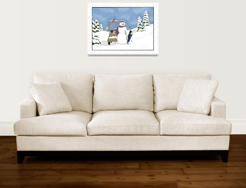 """Winter Golfing Whimzy""  (2009) by tlskarma"