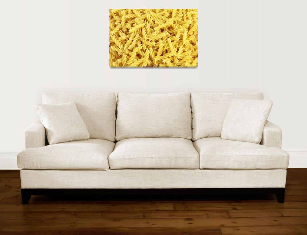 """Pasta Background&quot  (2011) by ArgosDesigns"