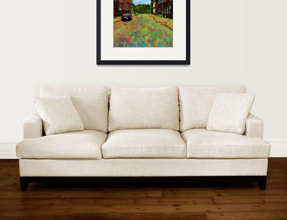 """""""kongens-bastion-stor_Painting&quot  by Lonvig"""