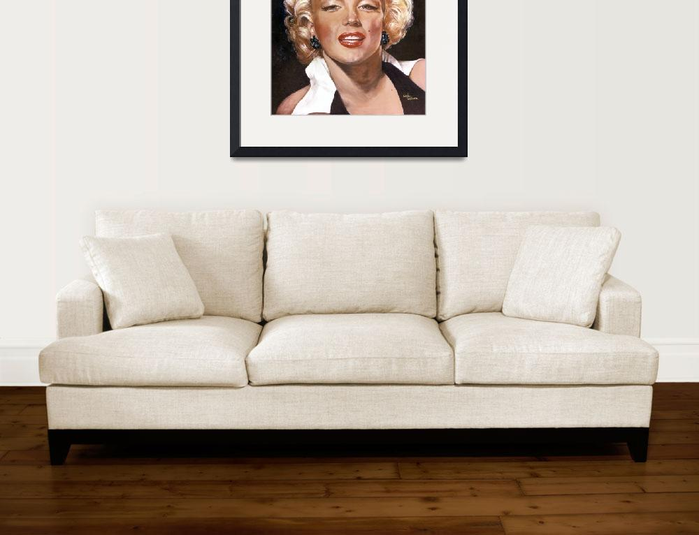 """Marilyn Monroe&quot  (1990) by GiniWahlen"