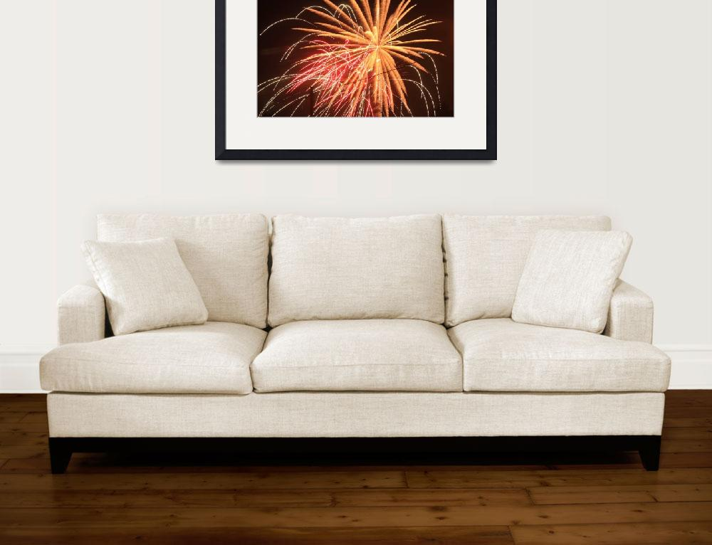 """fireworks&quot  (2012) by Justincheek"