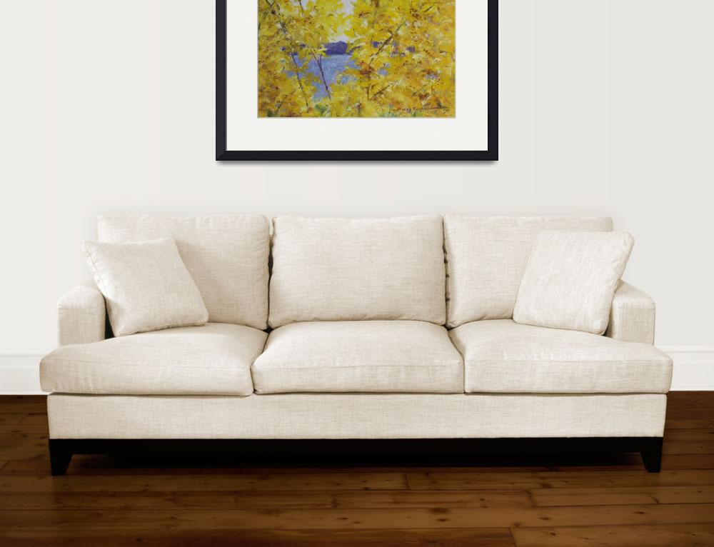 """""""Forsythia at SML&quot  by ShelleyKoopmann"""