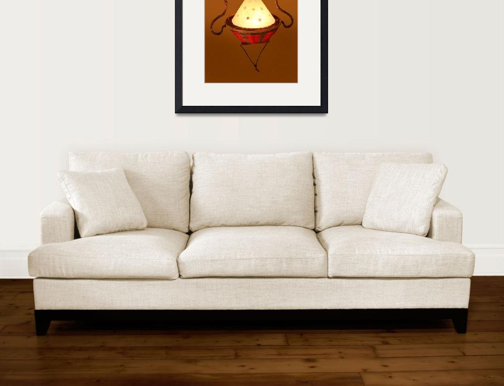 """""""Bamboo Lantern&quot  by ArtCafe"""