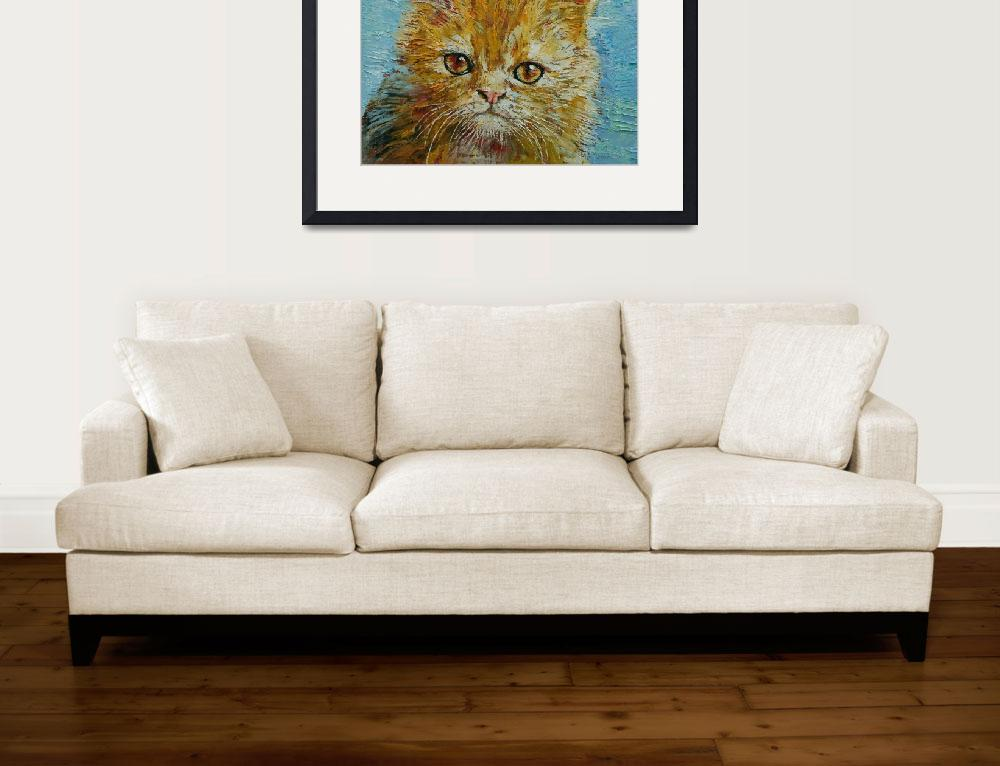 """Van Gogh the Kitten&quot  by creese"