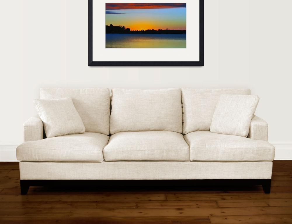 """""""Golden Sunset 2""""  (2011) by LJdesigns"""
