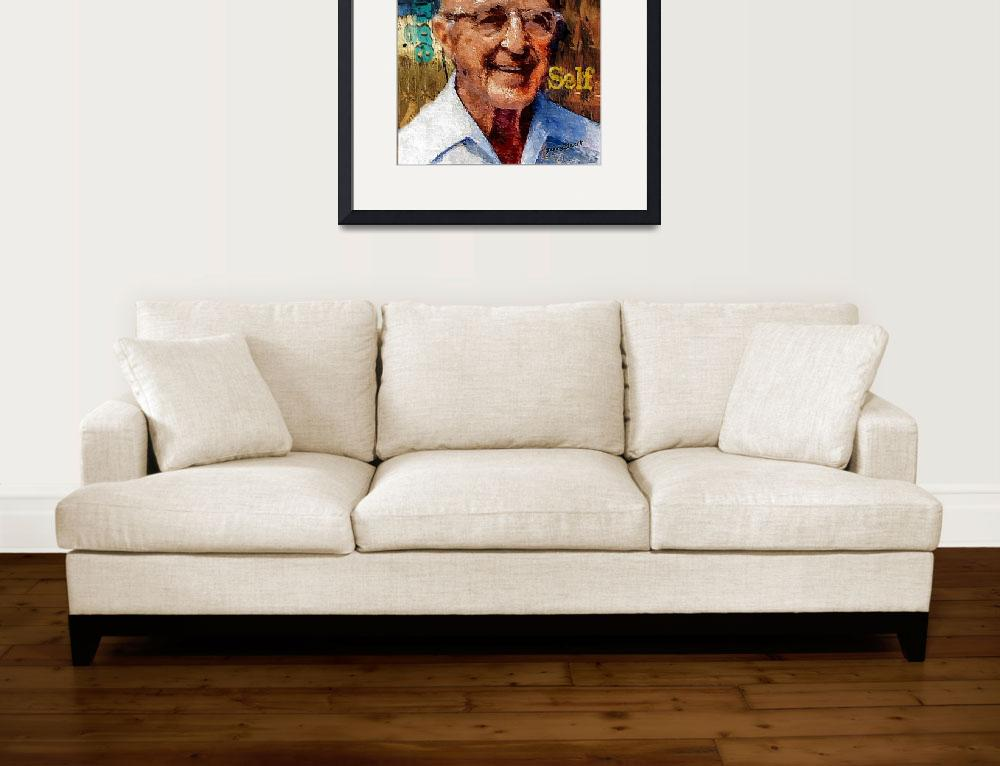 """""""Carl Rogers&quot  (2012) by jerrybacik"""