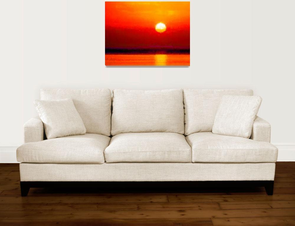 """""""Sunset""""  (2012) by keenart"""