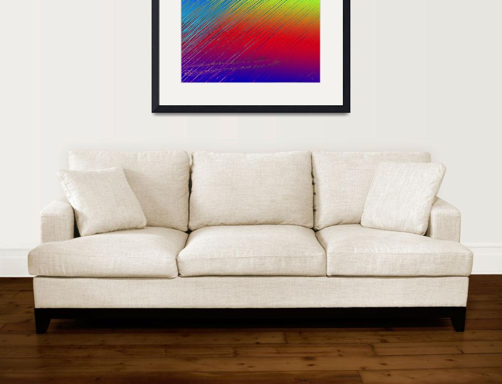 """3 color soft&quot  (2011) by ArtByManfred"
