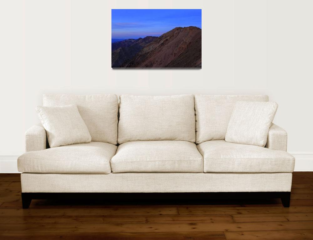 """""""Sunset Over Death Valley I""""  (2012) by SF_Lilith"""
