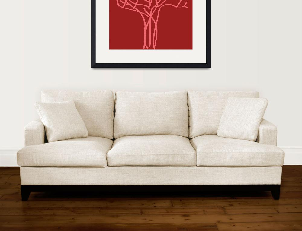 """simple tree 2&quot  (2009) by artbynina"