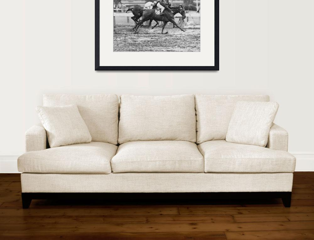 """1966 Vintage Horse Racing""  by RetroImagesArchive"