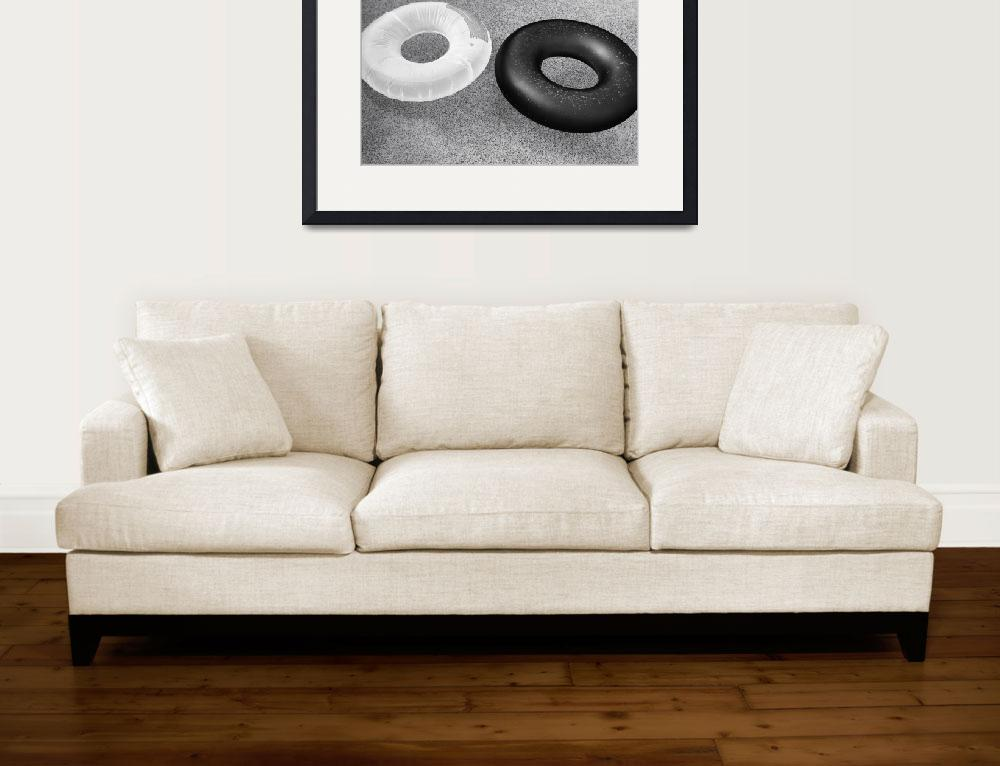 """""""Ring Floats&quot  (2014) by black-and-white"""