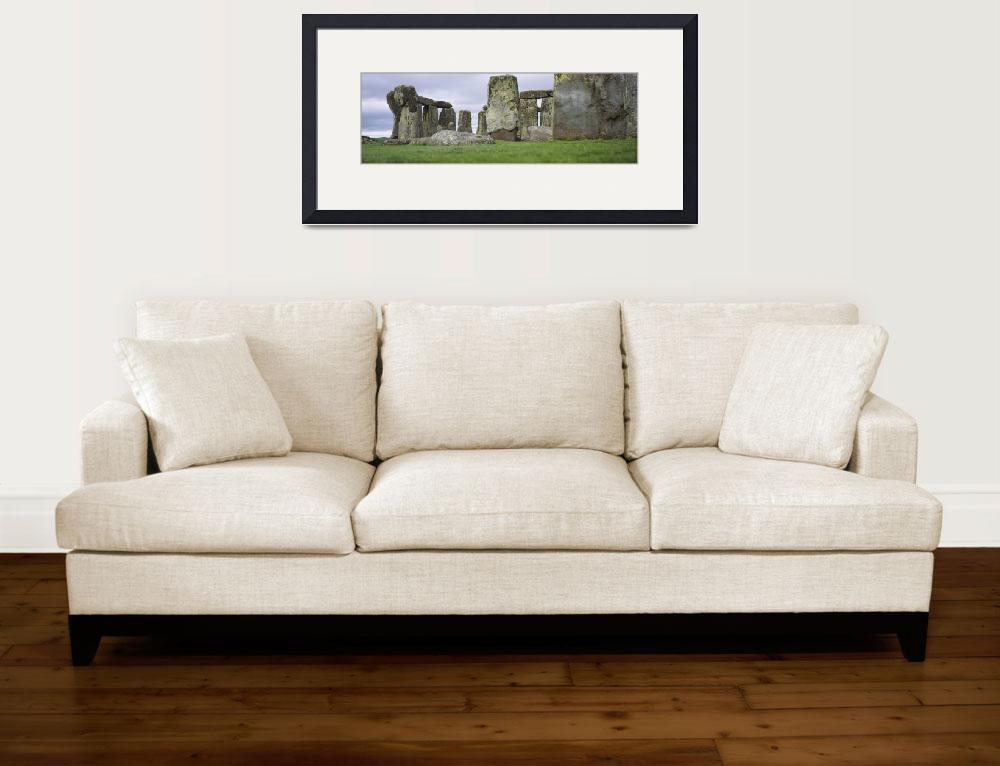 """""""Rock formations of Stonehenge&quot  by Panoramic_Images"""