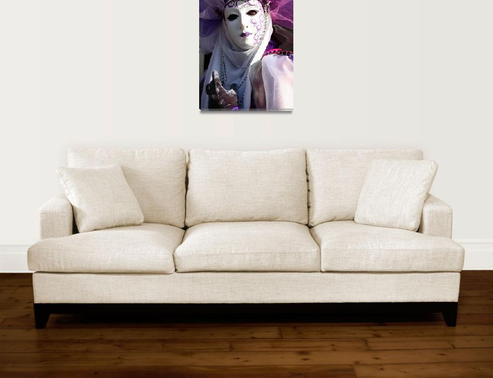 """Portrait of the Purple Arab""  (2009) by DonnaCorless"