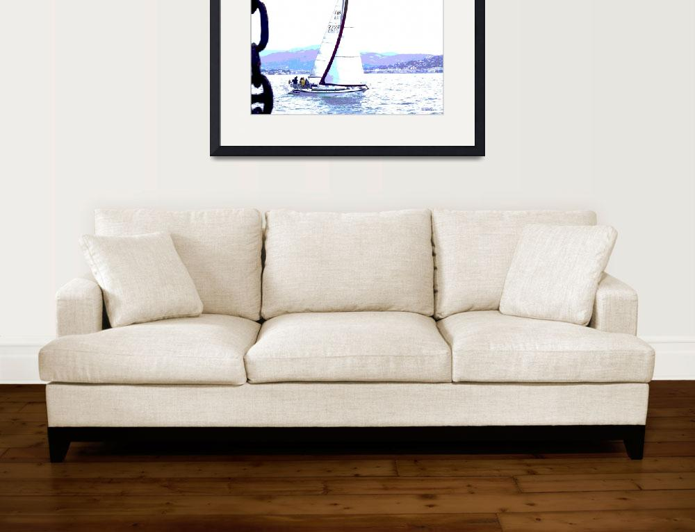 """""""Perfect sailing&quot  (2010) by Marianiart"""