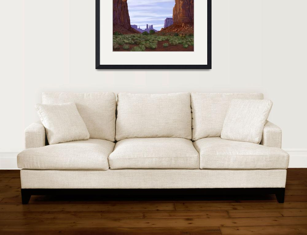 """""""Monument Valley - Northern Window&quot  by Tim"""