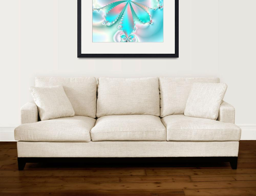 """""""MOTHER OF PEARL BUTTERFLY""""  (2015) by GinaRodella"""