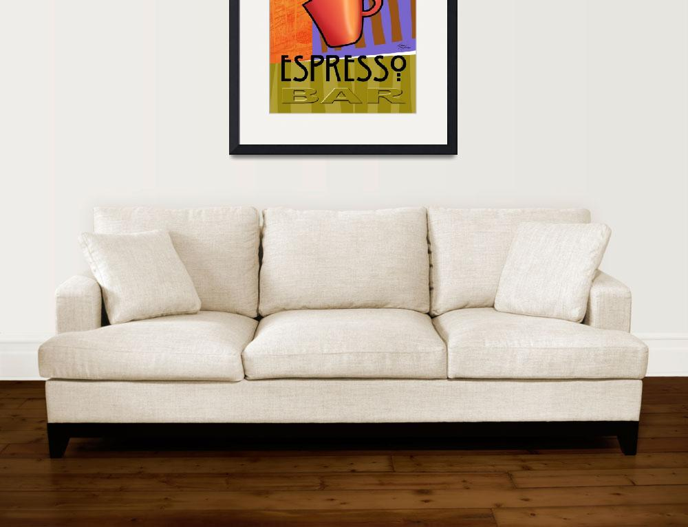 """""""Steaming Cup of Espresso&quot  (2006) by CherylDaniels"""