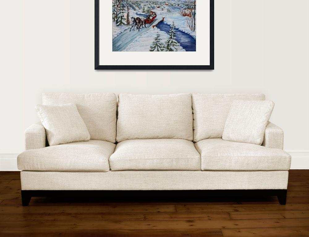 """""""Sleigh Ride&quot  by carolynhope"""