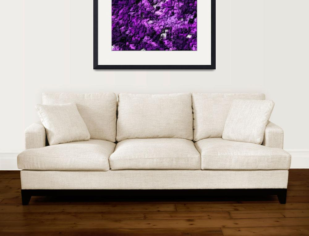 """""""Violet Abstract 3&quot  (2013) by TheNorthernTerritory"""