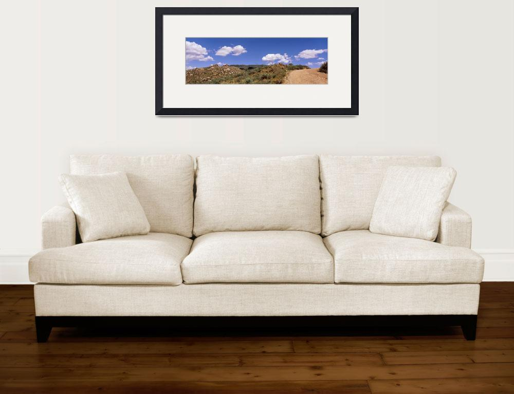 """""""Four Peaks Mountain Desert Flora Sonoron Desert A&quot  by Panoramic_Images"""