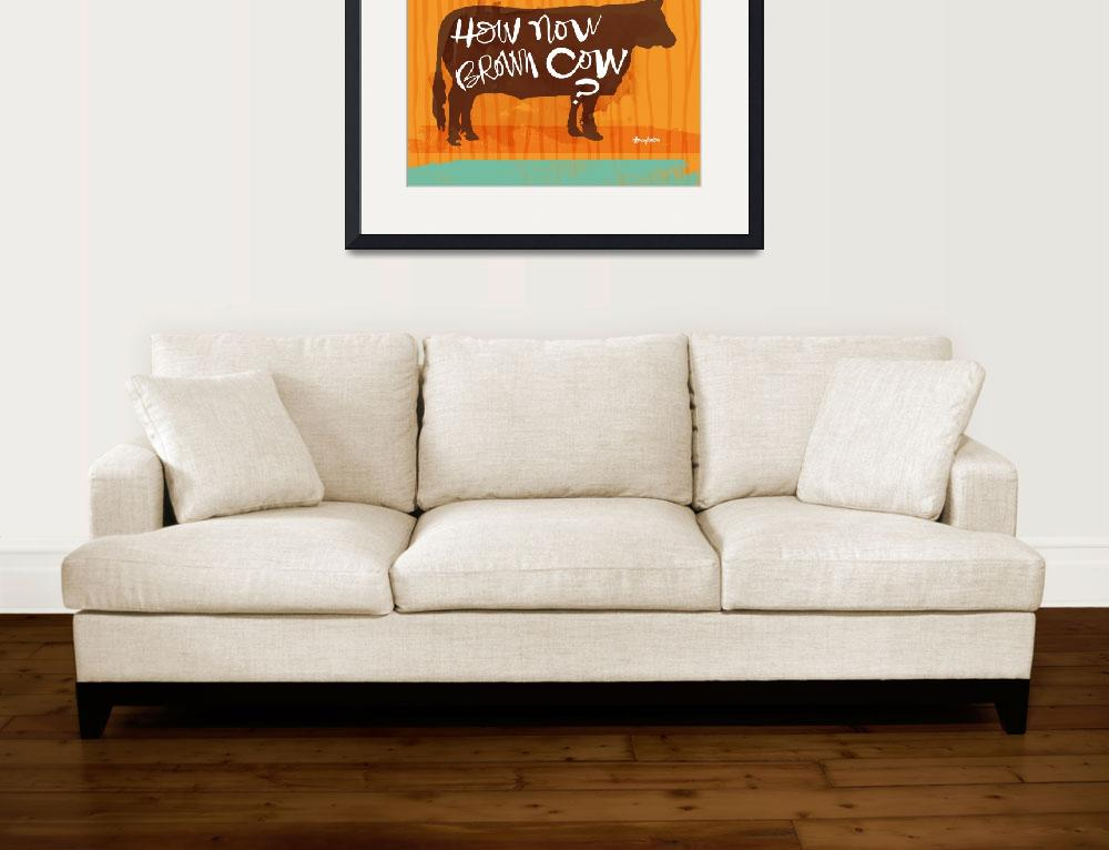 """""""how now brown cow?&quot  (2012) by stacykron"""