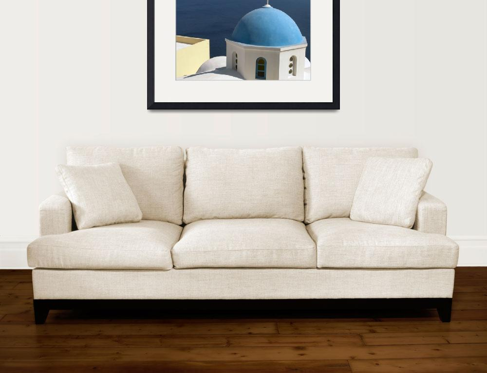"""""""Blue Dome&quot  by BrendanBowie"""