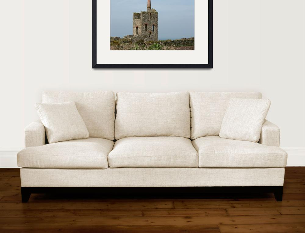 """""""An Old Cornish Tin Mine (5938)&quot  (2010) by poddys"""