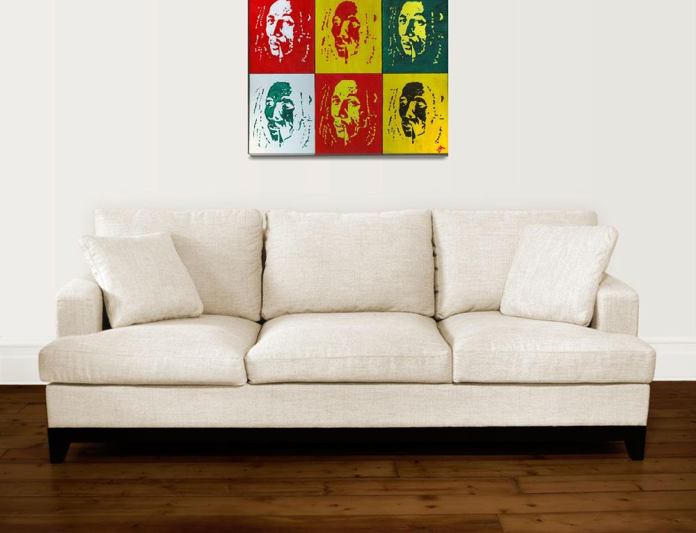 """""""Tribute to Bob & Andy""""  (2008) by alissaart"""