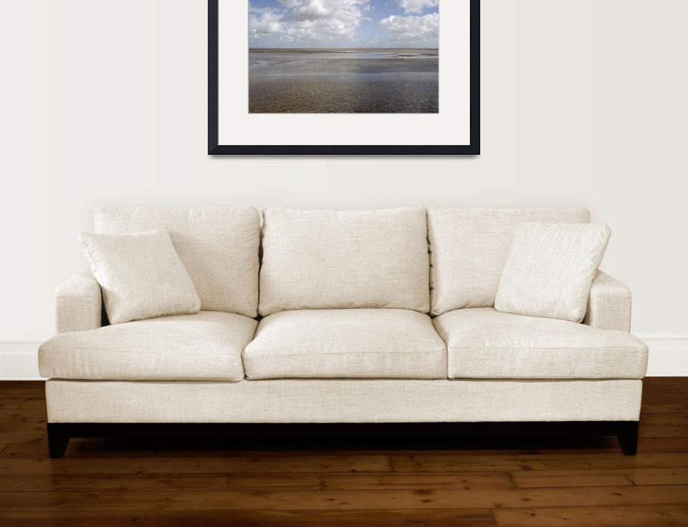 """""""Severn Estuary at low tide""""  (2011) by cofiante"""