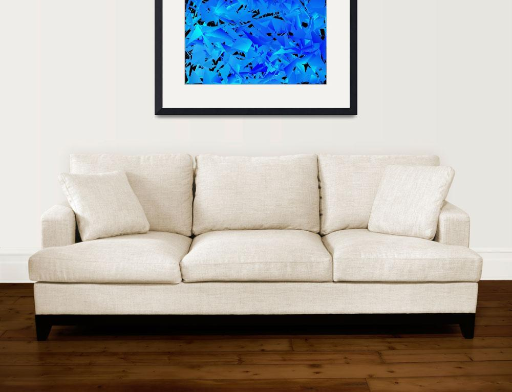 """Cool Blue""  (2014) by Tronagallery"