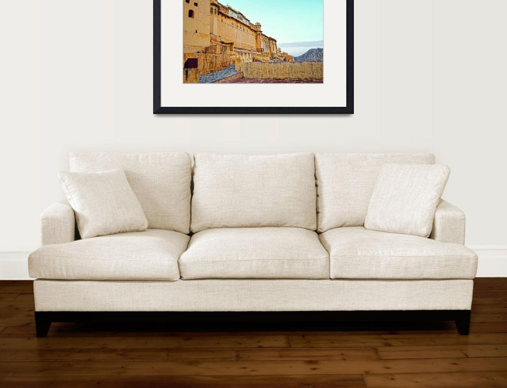 """""""Amber Fort&quot  (2013) by Augusto"""