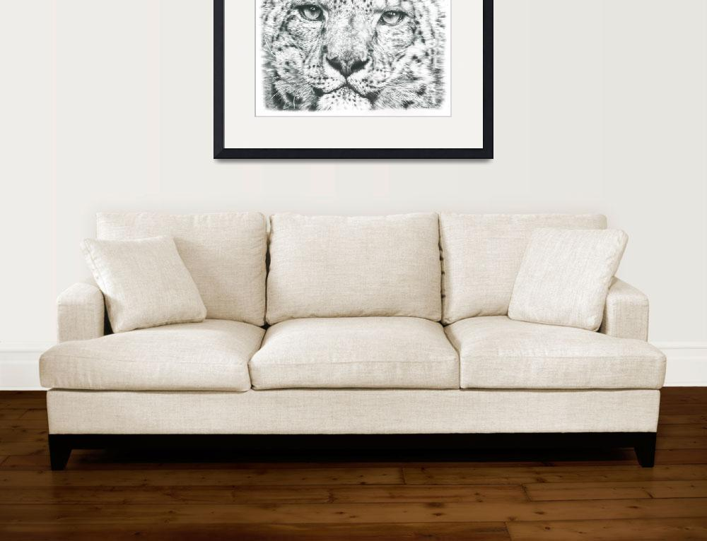 """""""Snow Leopard&quot  (2016) by Remrov"""
