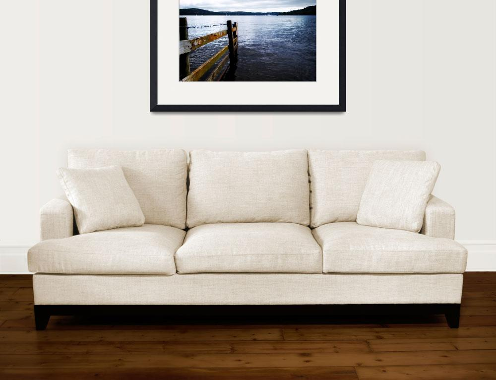 """""""Lake Windermere High Contrast&quot  (2009) by Pmac2k"""