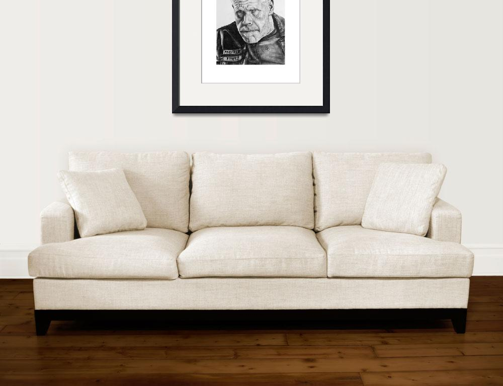 """""""SOA - Clay Morrow by Steve Page&quot  (2016) by UrbanVenomArt"""