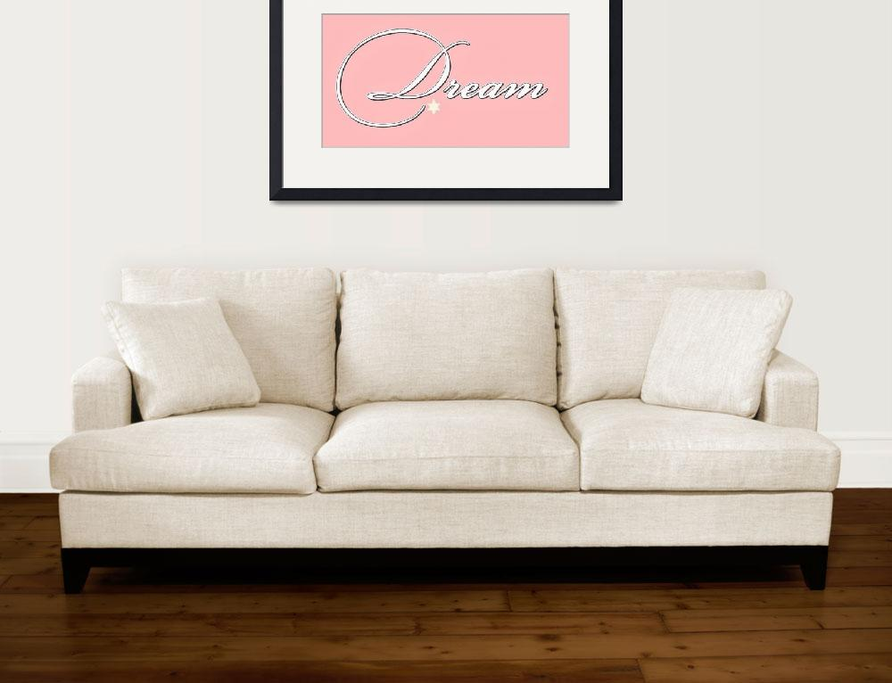 """""""dream white on pink""""  by lizmix"""