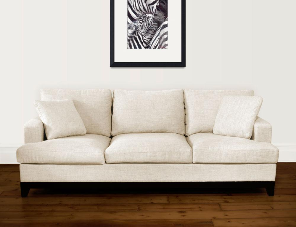 """""""Three Zebras""""  (2009) by soltho"""