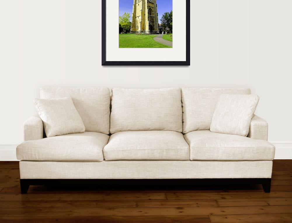 """The Bell Tower, Evesham Abbey (30149-RDA)&quot  (2011) by rodjohnson"