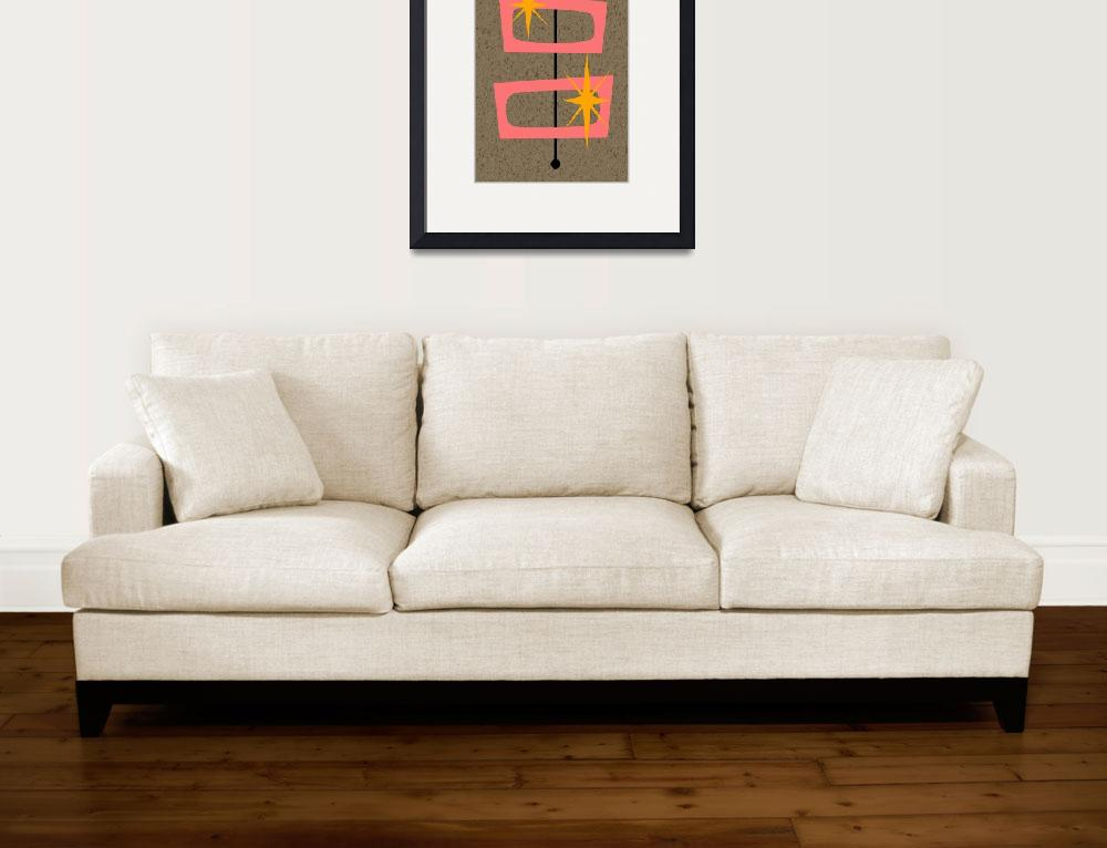 """""""Mid Century Modern Shapes 6&quot  by DMibus"""