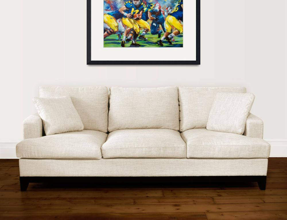 """""""Ready for Some Football""""  (2014) by BCArt"""