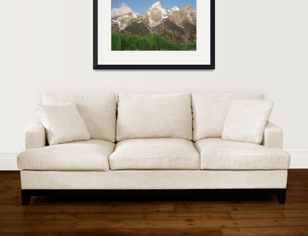 """""""The Grand Teton&quot  (2008) by bobsphotos"""